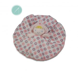 Plush First doll luvster baby blanket by Ebba 13' Bella