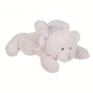 "Ganz Baby 11"" plush teddy bear, pink butter bear"