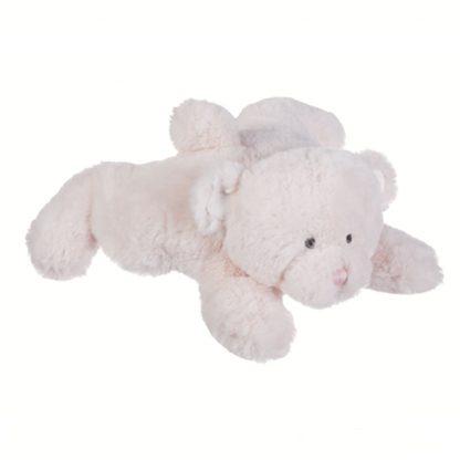 "Ganz Baby 11"" plush teddy bear, pink butter bear"