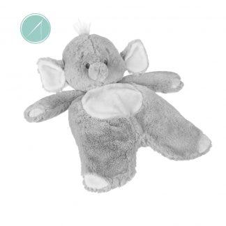 "Baby Ganz Emerson Elephant Flat-a-pat Baby Blanket - 18"""