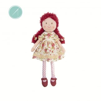 "GANZ Ella Rag Doll plush 22"" toy"