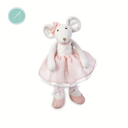 Ballerina mouse soft toy by Ganz