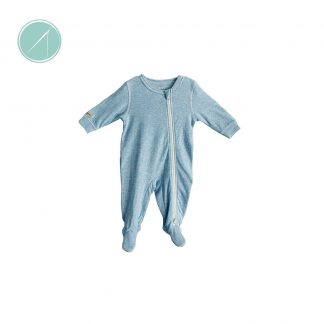 Juddlies baby sleeper in blue fleck