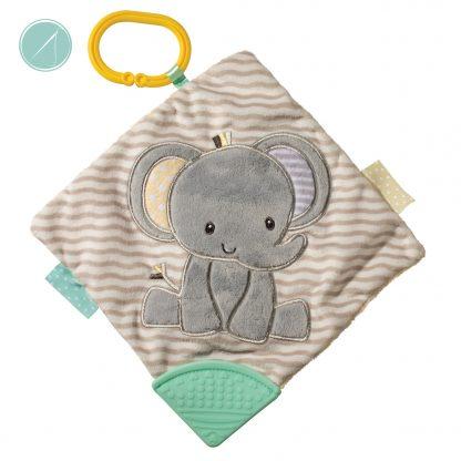 Grey Elephant activity blanket - Douglas Toys