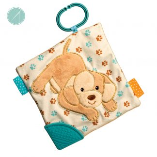 Tan Puppy Activity Blanket