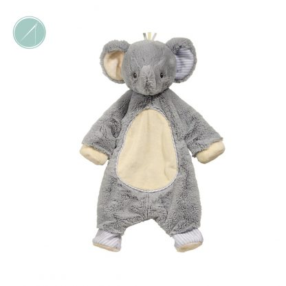"19"" Grey Elephant Sshlumpie - Douglas Toys"
