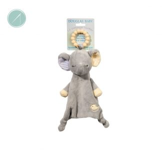 Grey Little Elephant Teether from Douglas Toys