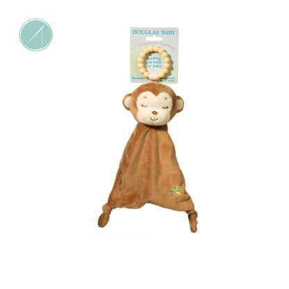 Monkey Sshlumpie Teether Toy from Douglas Toys